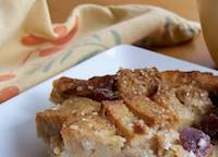 Swedish Rye Bread Pudding