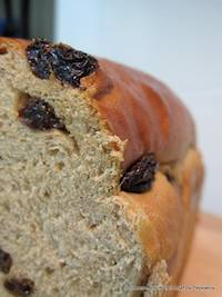 Cinnamon and Raisin Loaf