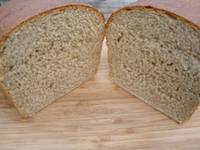 Soaked Whole Wheat Bread - machine friendly