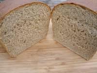 Soaked Whole Wheat Bread - machine friendly
