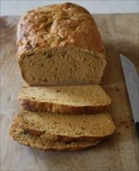 Whole Wheat Savory Tomato Scallion Bread