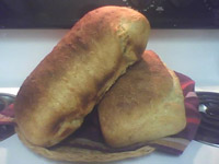Guinness Cheddar Loaves with Wild Yeast Starter