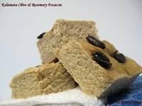 Kalamata Olive & Rosemary Focaccia