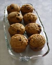 Sourdough Chocolate Chip muffins