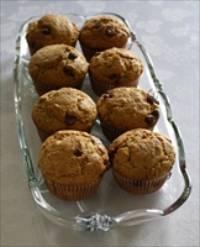 Sourdough Chocolate Chip muffins