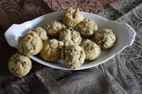 Sourdough Spicy Mint Muffins
