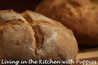 Vegan Potato Bread with Chives