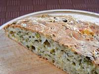 Potato Bread with Chives