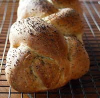 Vegan sourdough challah