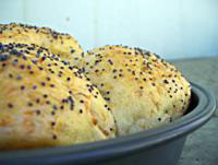 Mom's Carrot-Flecked Dinner Rolls