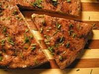 Whole-Wheat Focaccia with Olive Paste