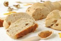Braided Bread with Walnuts, Raisins, Ginger, Cinnamon