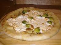 Brussells Sprout Sourdough Pizza