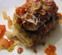 Savory Pesto Meat Rolls