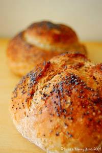 Oatmeal-Bulgur Bread