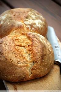 Sauerteig-Doppel-Brot