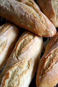 Mini French baguettes