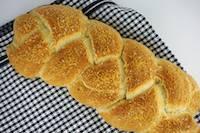 Braided Herbed Parmesan Focaccia