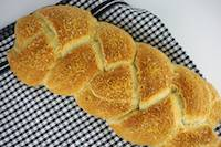 Braided Herbed Parmesan Focaccia