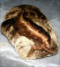 Norwich Sourdough With Flaxseeds