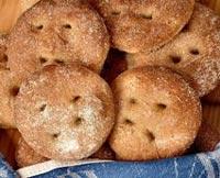 Rye flatbread with sense and sensibility