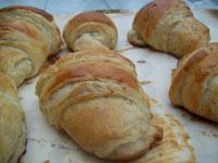 Croissants au Levain