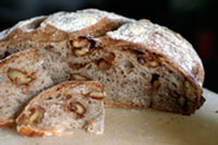 Rustic Candied Walnut Bread