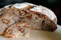 Rustic Candied Walnut Bread