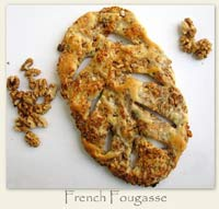 French Fougasse
