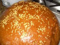 Artos, or Greek Celebration Bread
