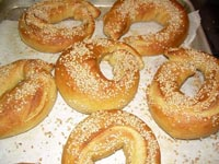 Whole Wheat Sesame Seed Bagels