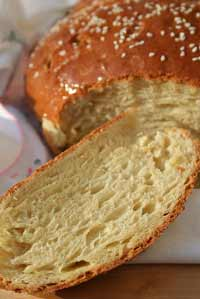 Artos, Greek celebration bread