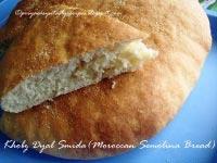 Khobz Dyal Smida (Moroccan Semolina Bread)