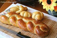 Zopf - Swiss Braided Bread