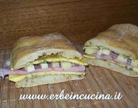 Ciabatta with Marjoram Omelette