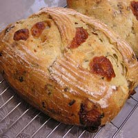 Spicy Cheddar and Bacon Bread