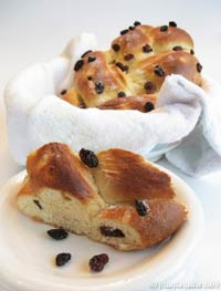 Sultana Braided Bread