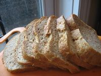 Oatmeal &amp; Brown Sugar Toasting Bread