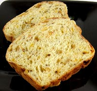 Savory Apple and Onion Bread with Cheddar Cheese
