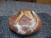 Vermont Sourdough with Whole Wheat