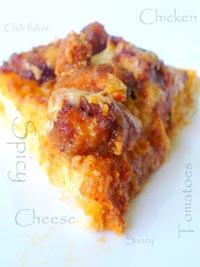 Cheese & Chilli Chicken Pizza