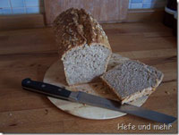 Sunflower seed-curd cheese-bread