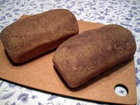 100% Whole Wheat Bread from BBA