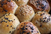 White and Brown rolls
