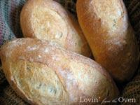 Italian Bread Torpedo Rolls (BBA Challenge)