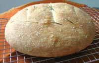Potato and Rosemary Bread