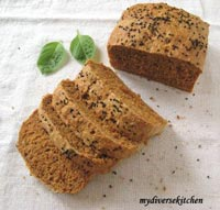 Tomato Bread With Fresh Basil