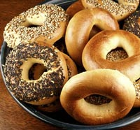 Sourdough Bagels