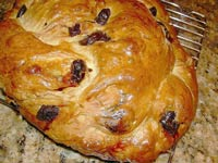 Cherry Walnut Celebration Bread