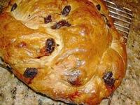Cherry Walnut Celebration Bread